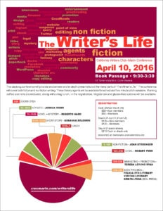 writer life conference April 10